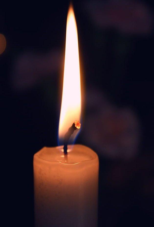 Et lys for det levende liv FOTO: Privat illustrasjonsfoto