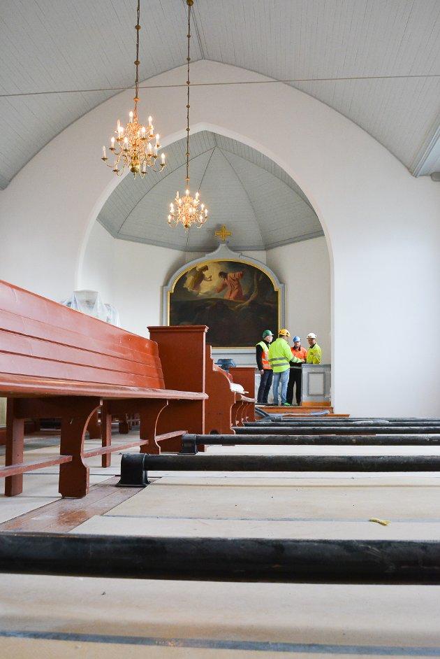 Asak kirke restaureres for 5,8 millioner kroner.