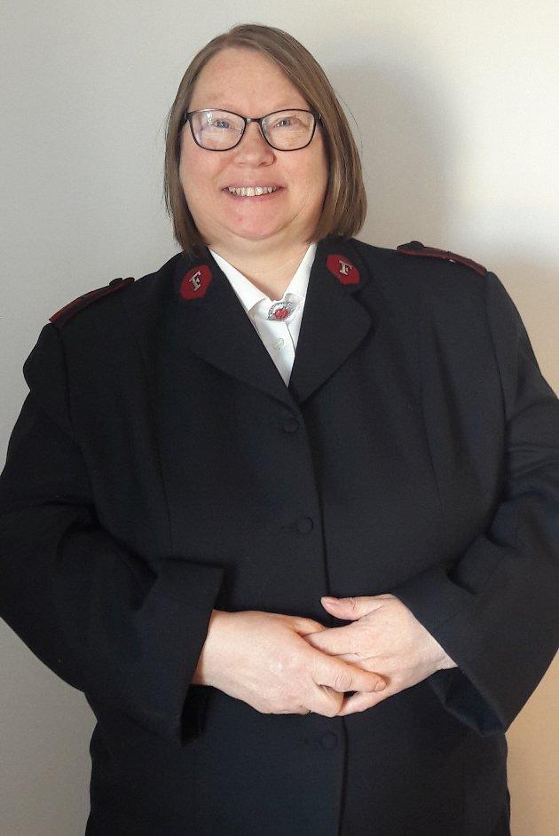 Hilde Nylund. Major og leder, Frelsesarmeen Larvik