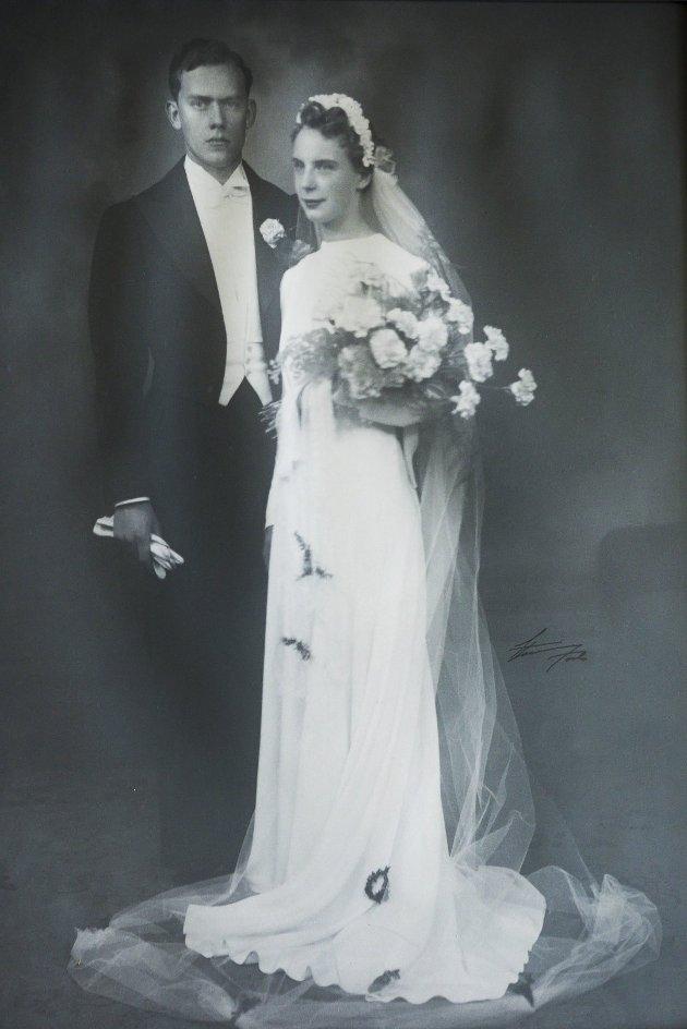 ATOMBRYLLUP: Roar og Kirsten Synnøve Gulbrandsen giftet seg i 1941 og feiret denne uka noe så sjeldent og imponeende som atombryllup.