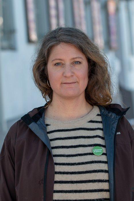 Louise Brunborg-Næss, toppkandidat Vestby MDG