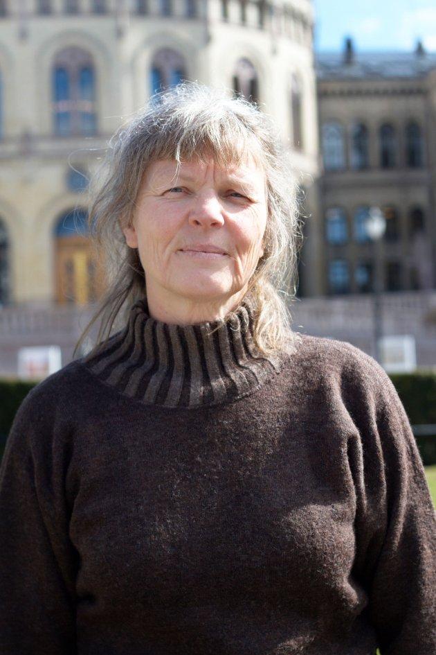 Leder i Norsk Bonde- og Småbrukarlag, Kjersti Hoff.