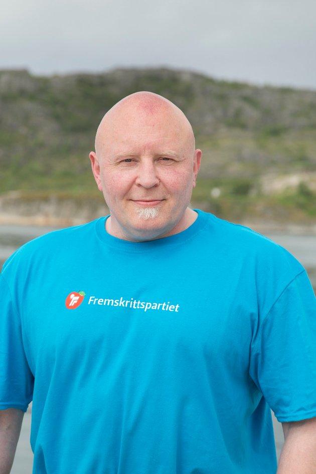 Rune Østergren, 5. kandidat Stortingsvalget, Nordland FrP