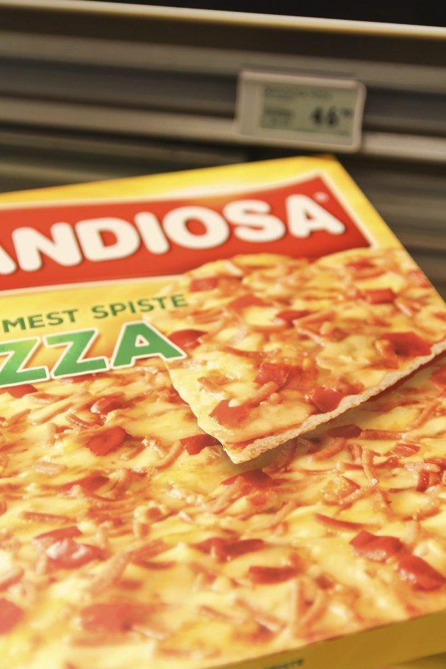 For 30.548.618 kroner kan du kjøpe 651.356 pizza Grandiosa.