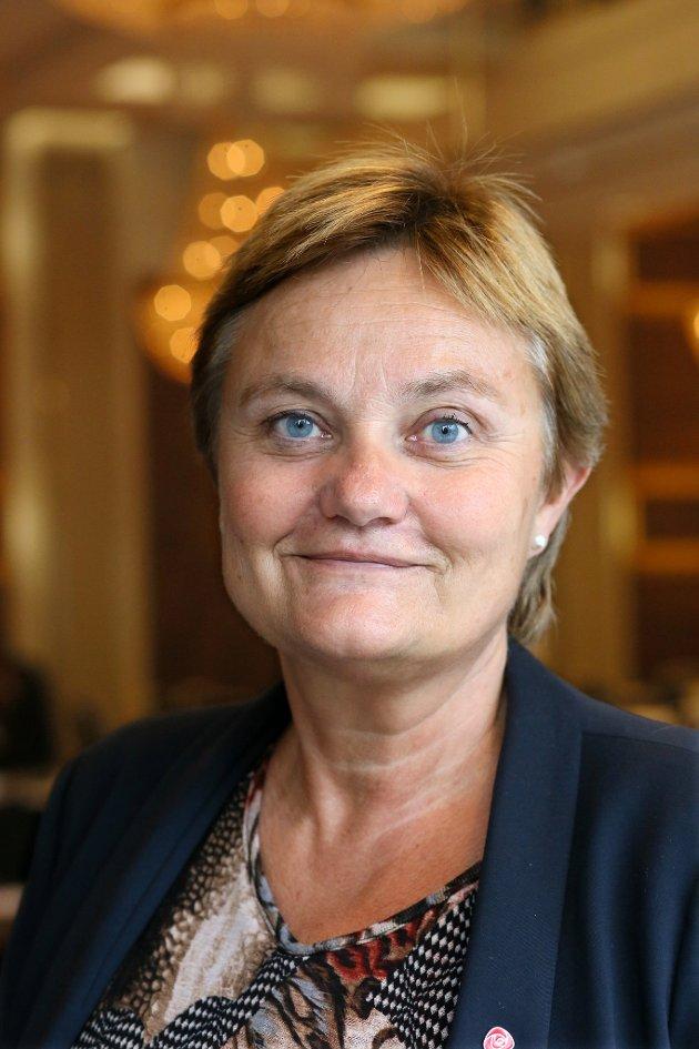 Rigmor Aasrud, finanspolitisk talsperson for Arbeiderpartiet.