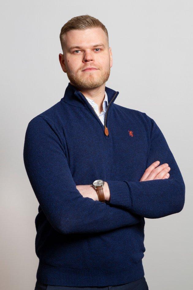 Even Aronsen, Venstres førstekandidat i Troms