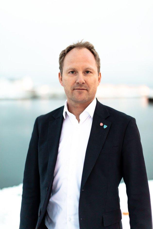 Ordfører i Vestvågøy kommune Remi Solberg