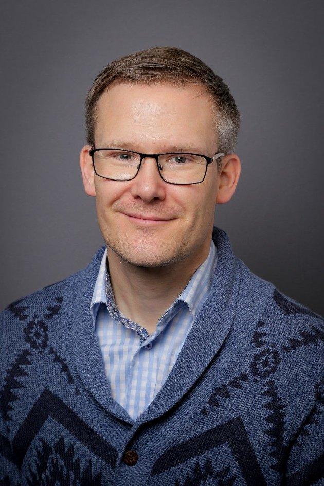 Lars Audun Bråten, lektor og medieviter. Foto: Viken fylkeskommune