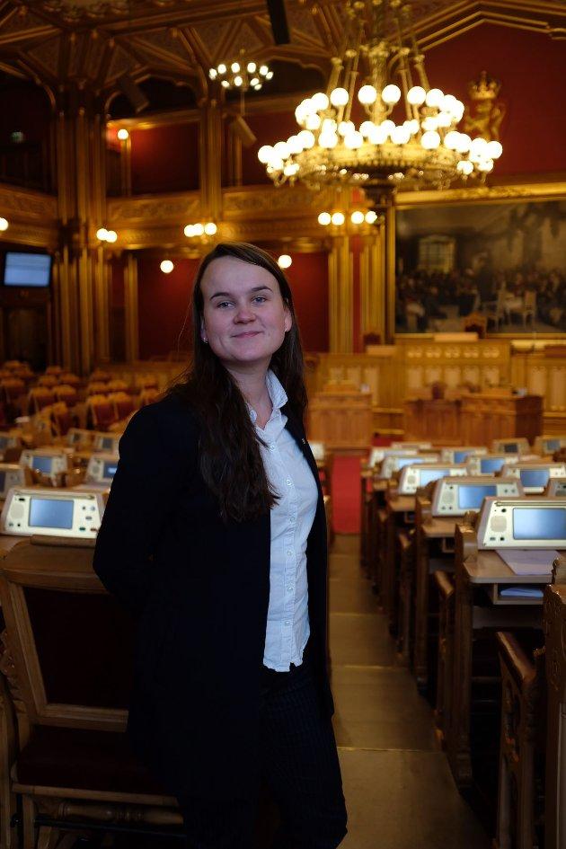ARBEID: – Det Senterpartiet har sagt fra første stund er at regjeringens forslag over tid vil kunne innebære at totalt 4-500 arbeidsplasser forsvinner fra de områdene som mister tingretten sin, skriver Marit Knutsdatter Strand