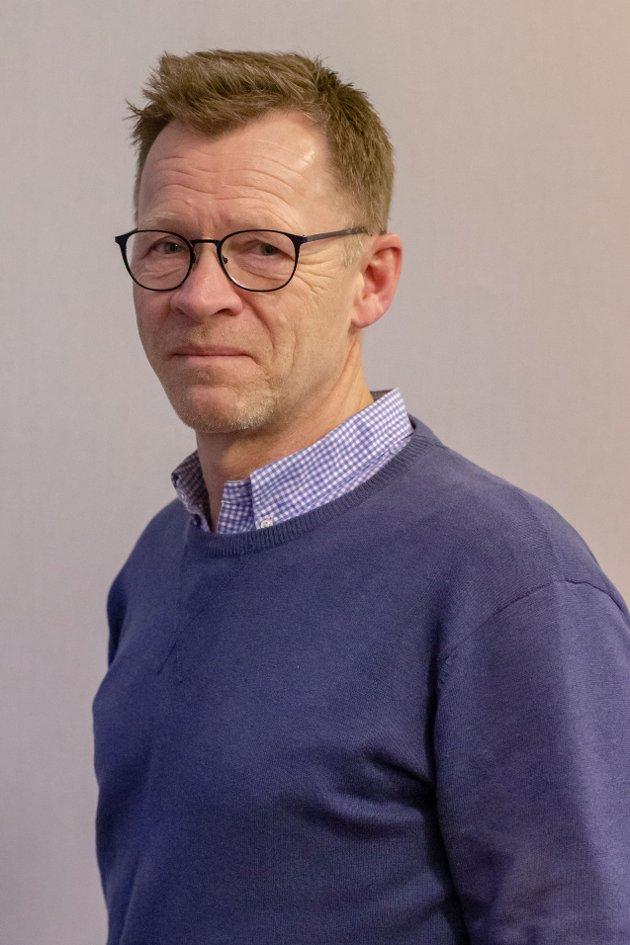Morten Riis-Gjertsen er en av de idrettspolitiske ansvarlige i Larvik Høyre.