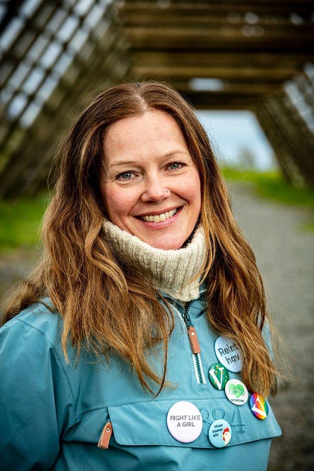Anja Johansen, statssekretær i Kunnskaps- og integreringsdepartementet