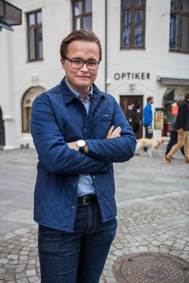 Erik Kursetgjerde, overlevande etter terroråtaket 22. juli, Sykkylven
