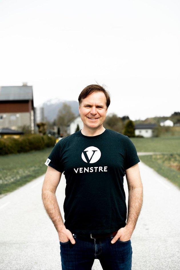 Ei stemme på Alfred Bjørlo er ei stemme på framtidsoptimisme og gjennomslagskraft