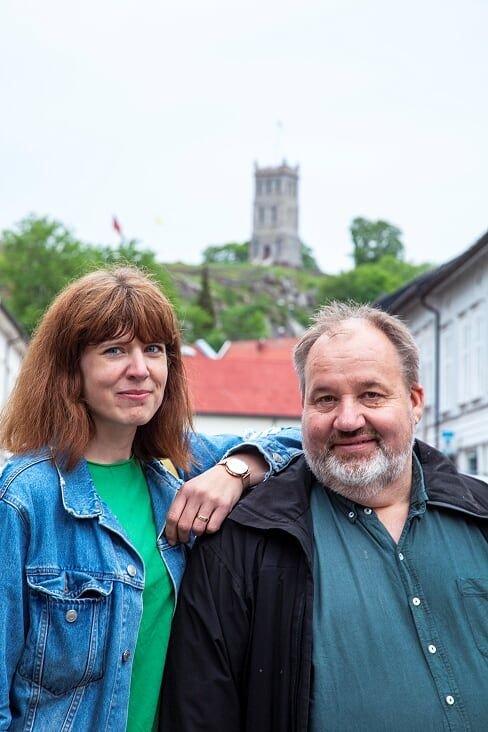 Elise Amalie Thorin Løkø og Olav Sanness Vika