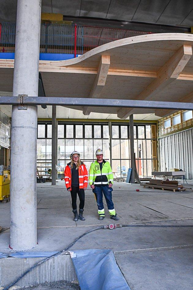 Tvedestrand vgs, april 2019, Ingeborg Holte og Tor Gunnar Espeland