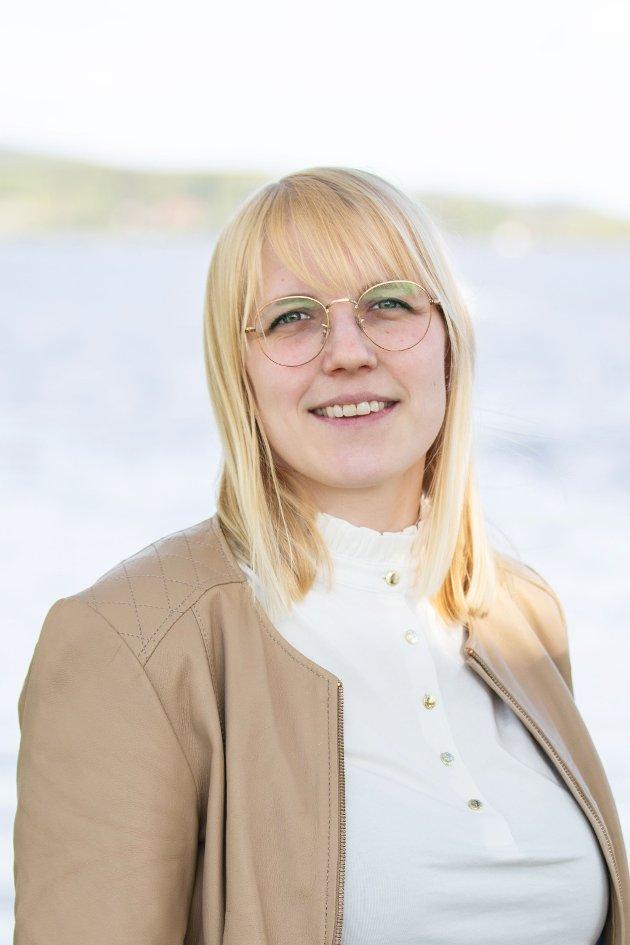 Åse Harjo Øvstegård, stortingskandidat for Høyre i Oppland valgkrets.