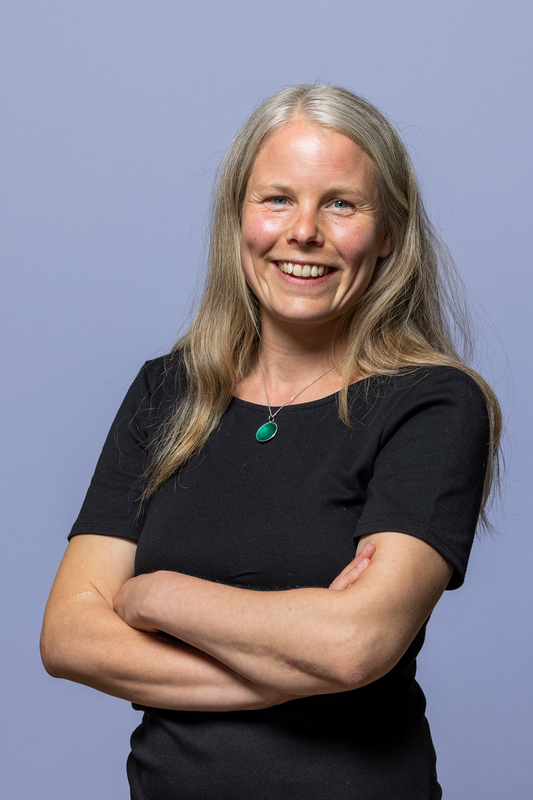 Kirsti Bergstø, nestleder i SV og 1. kandidat for SV i Akershus