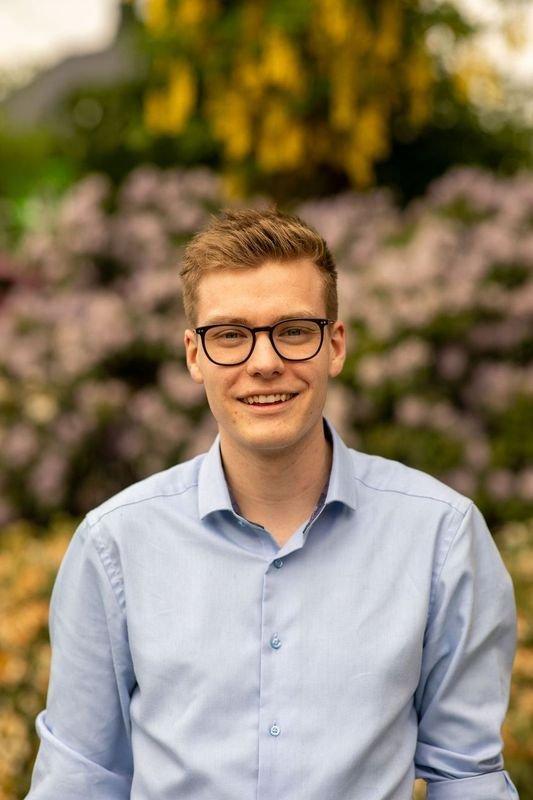 Elias Eide, ungdomskandidat for Høgre