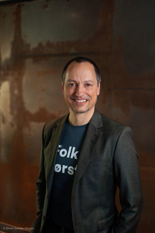 Rolf G Zimmermann er leder for FAU ved Ballstad skole