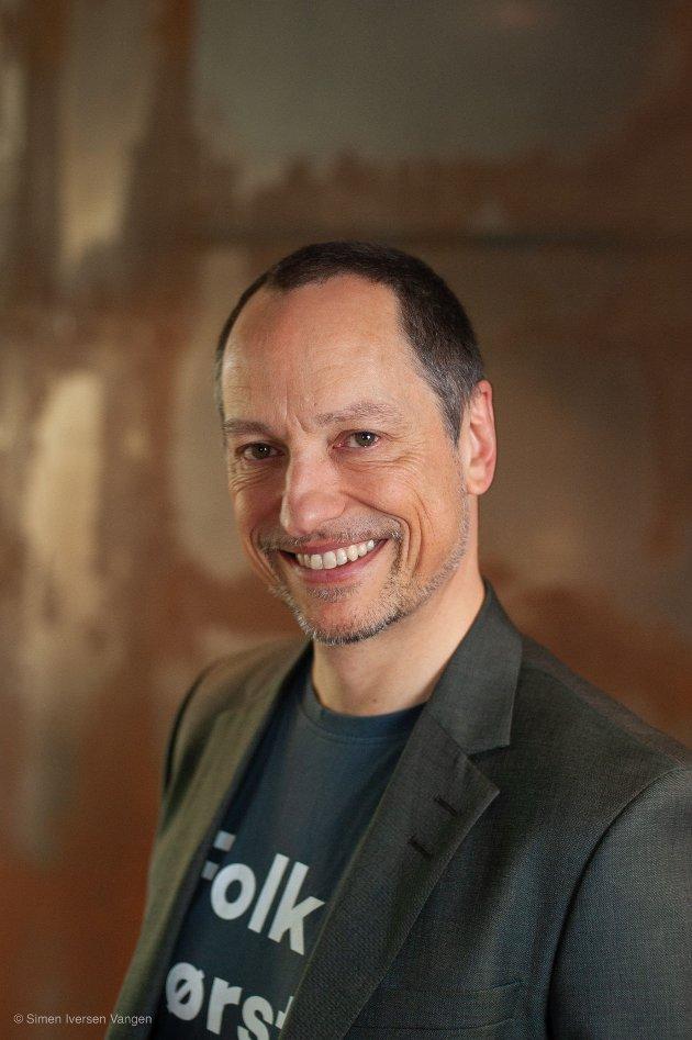 Rolf G Zimmermann er leder i FAU ved Ballstad skole