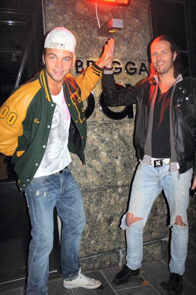 På Brygga Bar: Paradise Carl og Robinson Tommen. TEKST: Kim Clausen