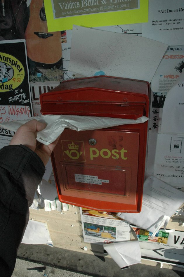 Posttenester: – Det er grunn til å sende gode tankar til postfolka som trufast leverer den posten som er att, uansett vêr og føre – inkludert papiravisa i grisgrendte strok, skriv Bjørn Karsrud. Illustrasjonsfoto
