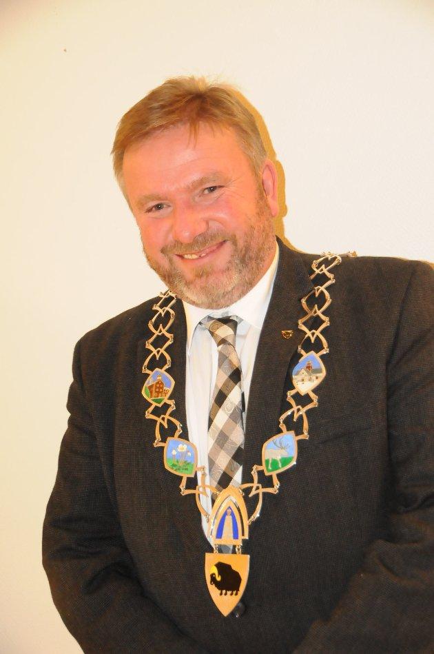 Ordfører Bengt Fasteraune (51), Sp.