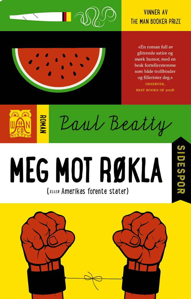 """– SATIRISK MESTERVERK: Slik beskriver Ketil Arntzen boka """"Meg mot røkla (eller Amerikas forente stater)""""."""