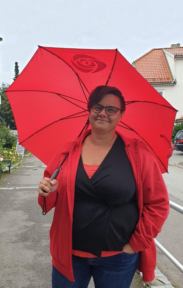 Kristine Flåtten, leder i Holmestrand Arbeiderparti.