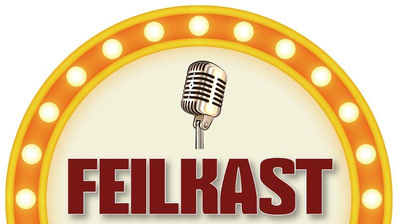 Feilkast - Rund logo
