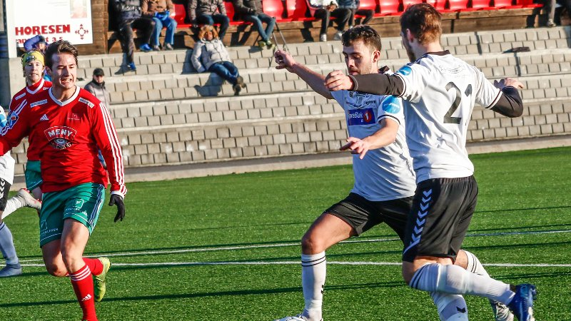 SCORET: Artan Brovina var frampå fra sin backposisjon og ordnet 2-0.