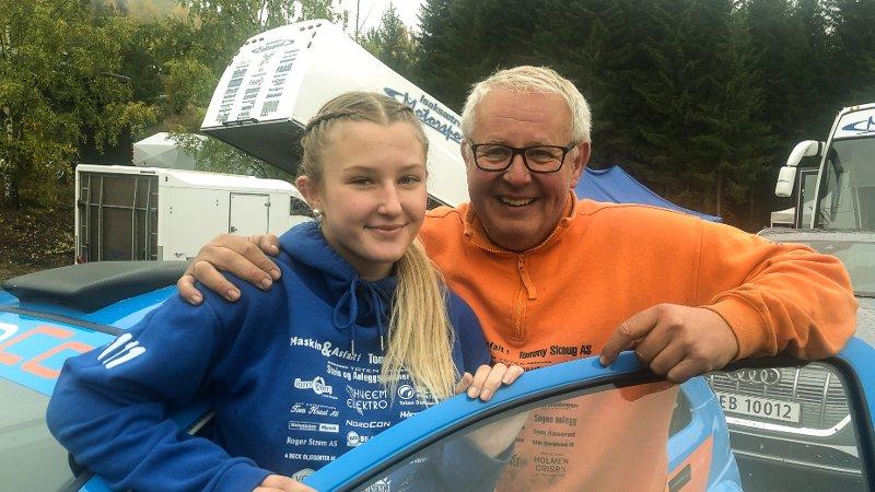 Stian Engh gjorde comeback, mens datteren Kristiane Hvaal Engh kjørte bakeløp for aller første gang i helga.