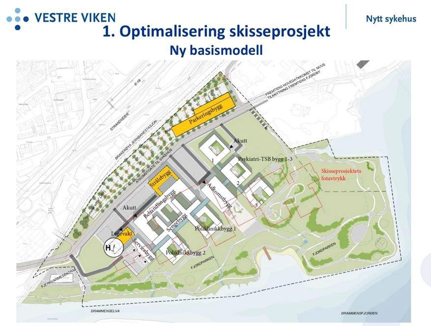 bærum sykehus kart Drammens Tidende   Vil flytte sykehusfunksjoner ut fra Drammen