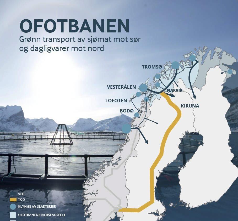 ofotbanen kart Fremover   Fersk fisk må ha dobbeltspor ofotbanen kart