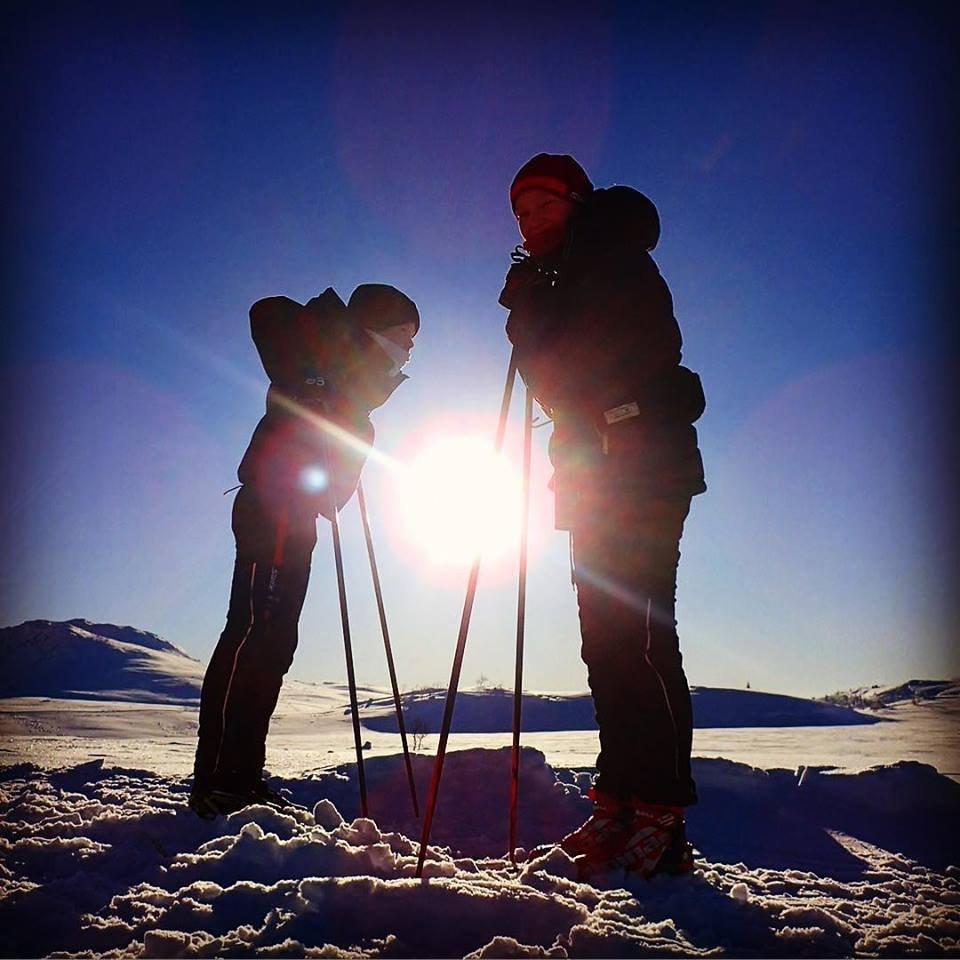 - Unormalt lite snø på Hardangervidda