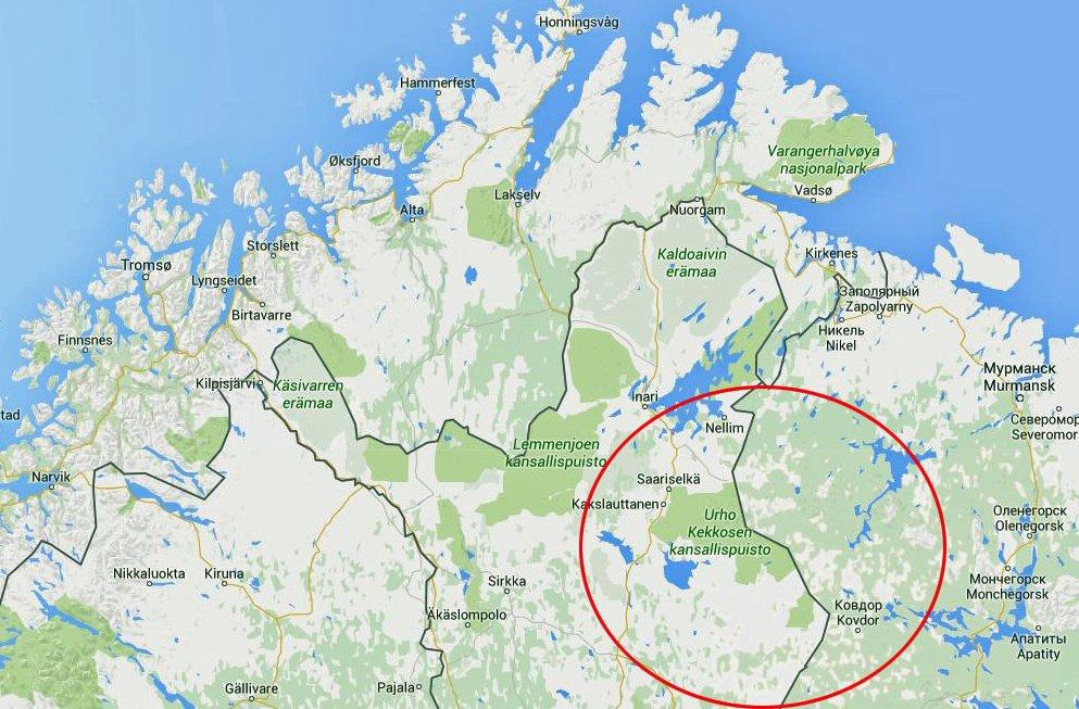 Nordlys Stenger Den Finsk Russiske Grensen For Nordmenn Og Eu