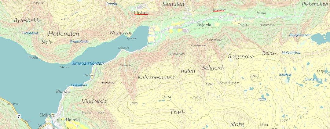 kart over eidfjord Hardanger Folkeblad   Mann omkom i fallulykke kart over eidfjord
