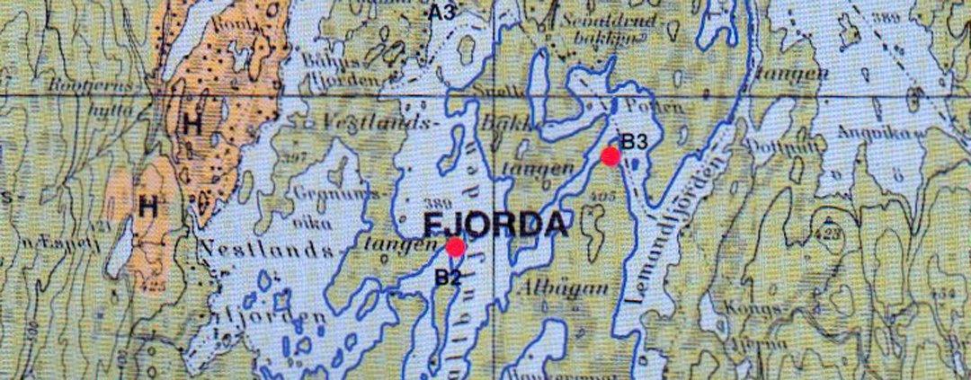 kart fjorda Oppland Arbeiderblad   Savmann kom til rette kart fjorda