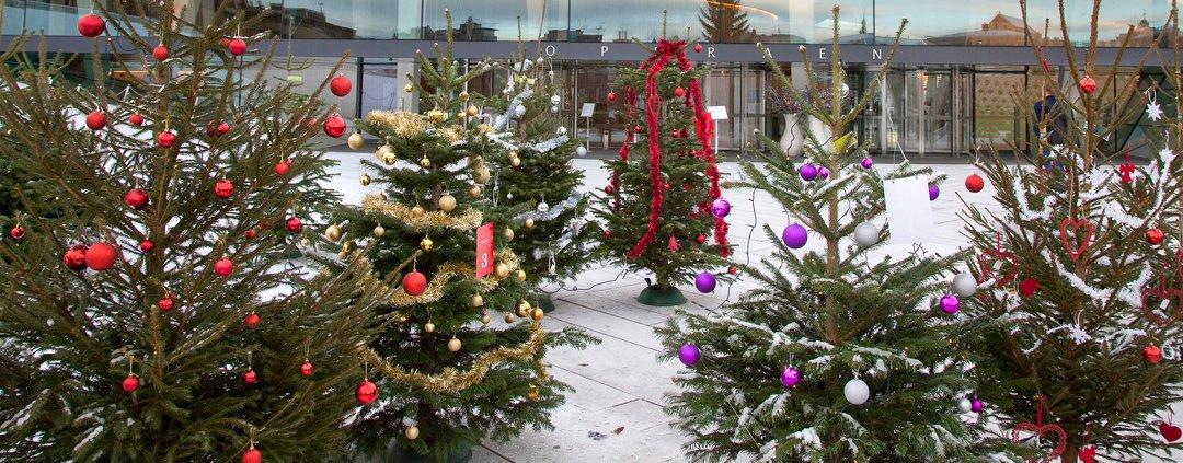 Ypperlig Oppland Arbeiderblad - Flagg på juletreet JB-95