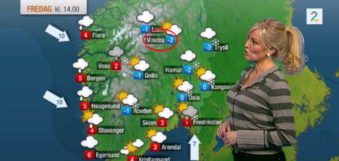kart over vinstra Gudbrandsdølen Dagningen   Satte Vinstra på kartet kart over vinstra