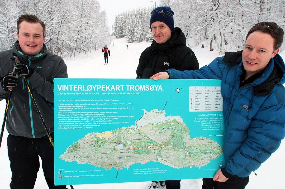 kart over tromsøya Nordlys   Tromsøs kart er best i test kart over tromsøya