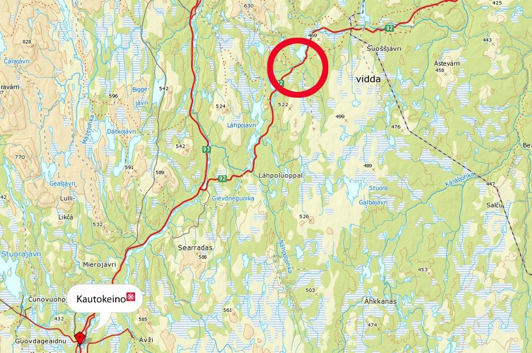 kart over kautokeino iFinnmark   Samtykket i fengsling kart over kautokeino
