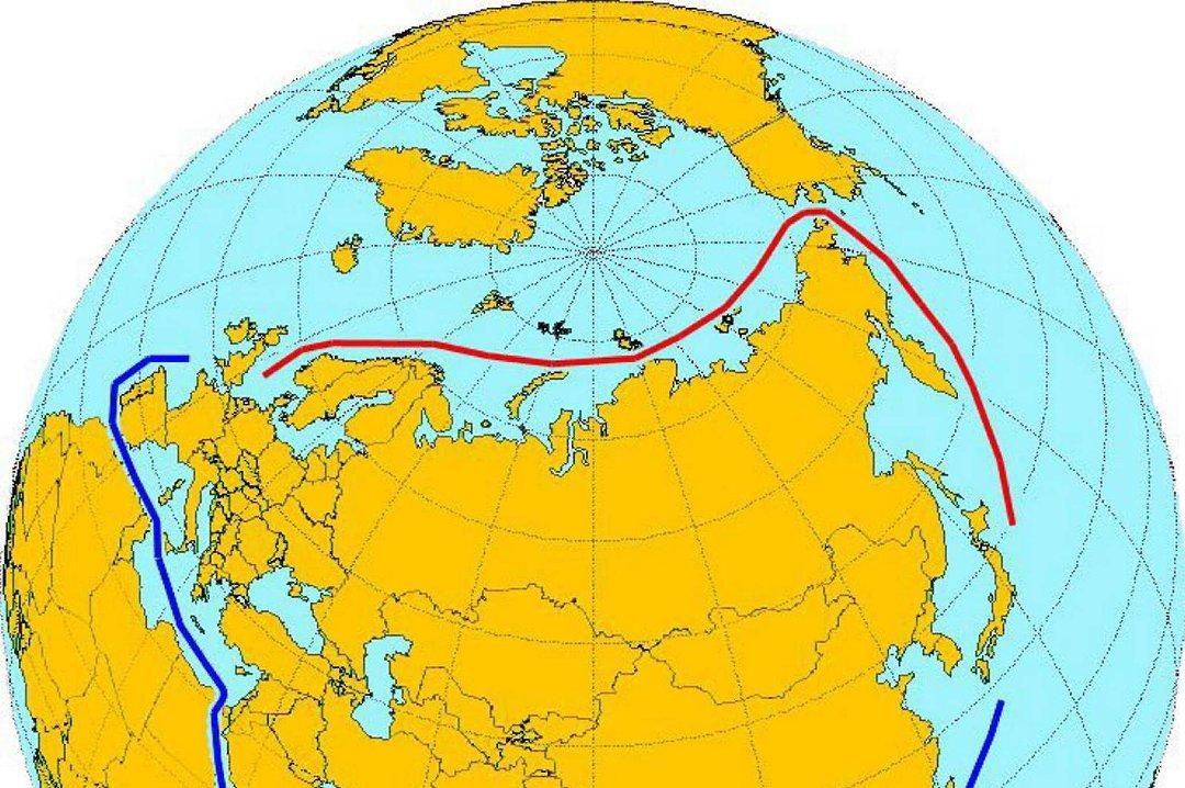 nordøstpassasjen kart Siste   Får ta snarveien til Asia nordøstpassasjen kart