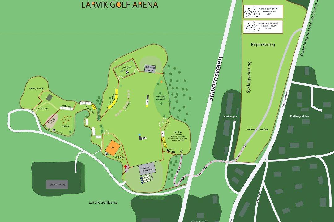 stavernfestivalen kart Østlands Posten   Slik blir det nye området for Stavernfestivalen stavernfestivalen kart