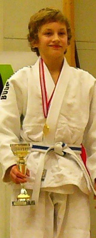 Gullgutt. Tobias Thofte vant ungdoms-NM.