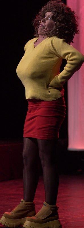 Imponerte.Anne Helene Krostoffersen imponerte som kjeftsterkt kvinnfolk på sjekkern.