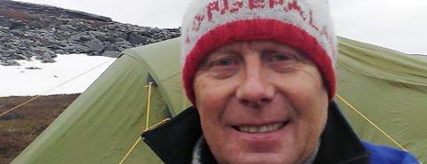 Rolf Schjem er klar for nye steg - nå fra Umbukta til Røros.