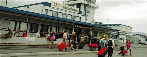Alta lufthavn skal moderniseres for 300 millioner kroner. Arkivfoto