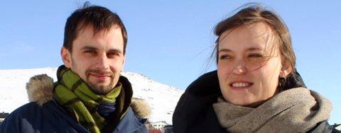 De danske studentene Anna Sofie Jacobsen og Julian Jahn har fokus på fremtidens Honningsvåg i sine eksamensprosjekter. De har tro på et akvarium og marinbiologisk feltstasjon som trekkplaster.