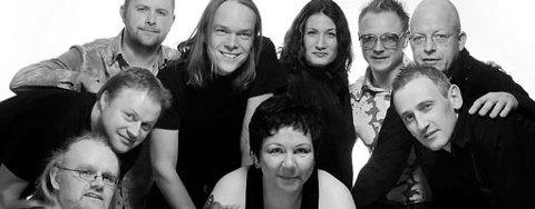 Betty Big Boom Band med frontfigur Betty Johnsen i midten foran (2007).